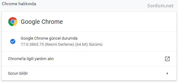 Google chrome hakkında