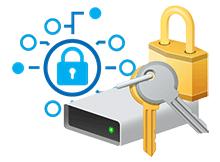 Veriyi korumak için içeriği şifrele özelliğini Nedir