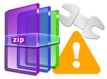 Açılmayan zip dosyası nasıl onarılır