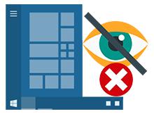 Windows görev çubuğu ikonları gizlenmesin