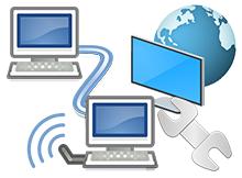 Bu bilgisayar altına ağ bağlantıları ikonu ekleyin