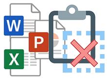 Excel veya Word da Pano nasıl temizlenir