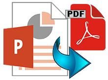 PowerPoint dosyalarını topluca Pdf formatına dönüştürün
