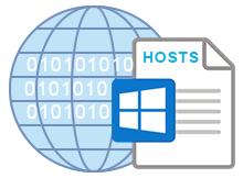 Hosts dosyasını varsayılan hale getirin