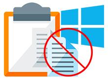 Windows 10'da Pano Geçmişi kullanımını yasaklayın