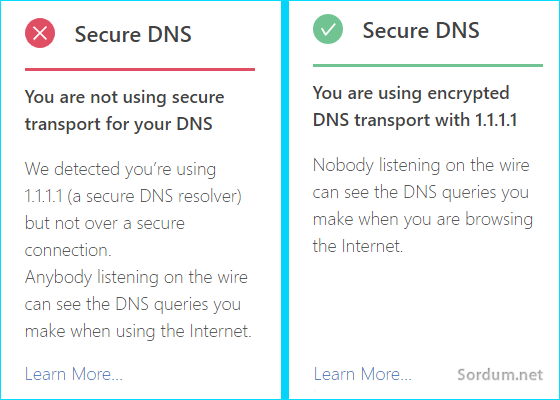 Secure DNS