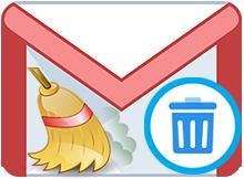 Gmailde tüm emailleri toptan silelim