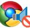Chromede web sayfalarının sesini susturun