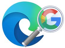 EDGE chromium arama motoru Google olsun
