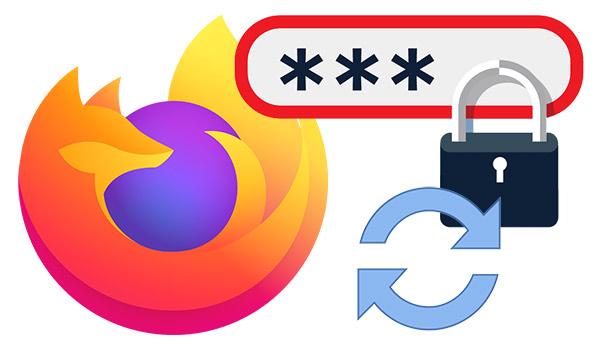 Firefox şifrelerini yedekleyip geri yükle