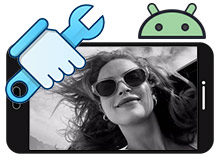 Android telefonda resim kalitesi bozuldu