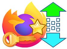 Firefox şifre ve favorilerinizi bir tıkla yedekleyin