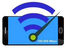 Telefonun durum çubuğunda ağ hızı gösterilsin