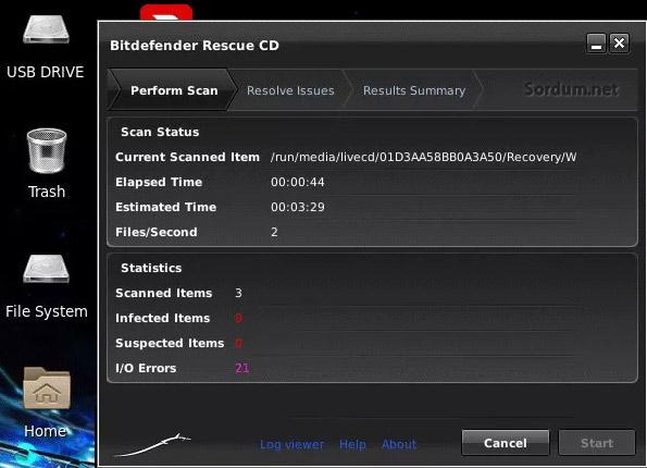 BitDefender RescueCD