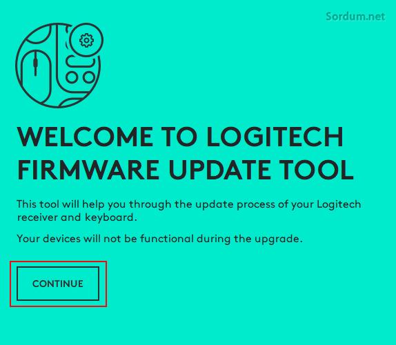 logitech firmware güncelleme yazılımı