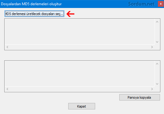 Notepad ile bir dosyanın hash değerleri nasıl bulunur
