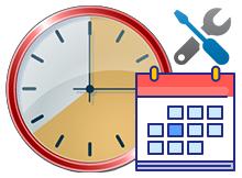 Tarih ve saat formatını bir tıkla değiştirin