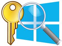 Windows ürün anahtarını yazılım kullanmadan bulun