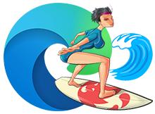 Microsoft Edgede Sörf Oyunu nasıl oynanır