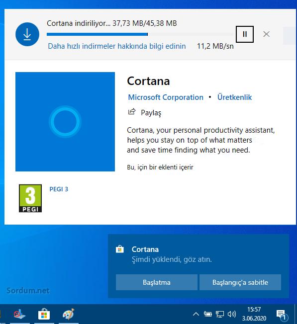 Cortana nasıl kurulur