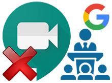 Gmailde yeralan Meet (Toplantı) Özelliğini kaldırın
