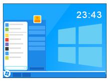 Windows için dijital saat Uygulaması