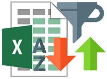 Excel de belirli bir sütuna göre sıralama yaptırın