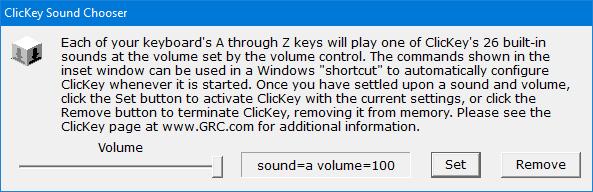 clickkey