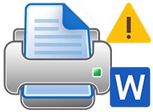 Word sayfa arkaplanı renkli çıktı sorunu
