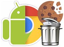 Mobil Google chromede tüm site çerezlerini sil