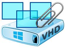 Sanal sabit disk (VHD) her açılışta kaybolmasın
