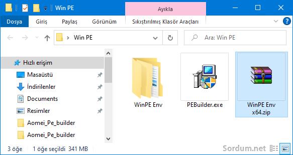 Windows PE dosyaları