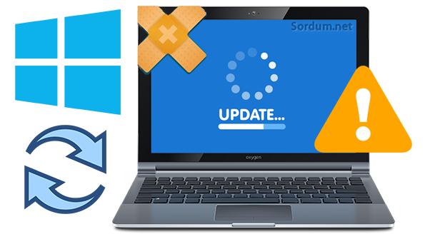 Windows sürüm Güncelleme engelini kaldırın