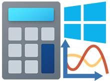 Windows 10 hesap makinası ile grafik oluştur