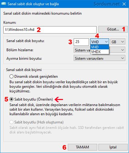 Winntsetup ile SSD oluştur ve bağla