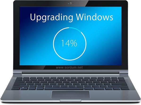 Windowsun yeni sürüme güncellenmesi nasıl engellenir