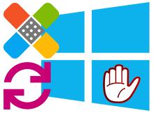 Windows 10 bir üst sürüme yükselmesin