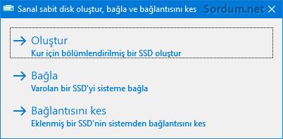 Winntsetup SSD seçenekleri