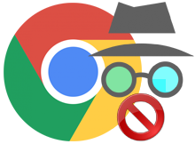 Google chrome gizli modu yasakla