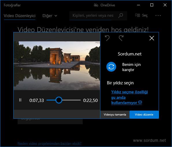 Video Oluşturuluyor