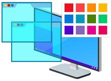 Windows 10 Başlık çubuklarını renklendirin
