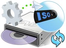 DVD yada CD den ISO kalıbı oluştur
