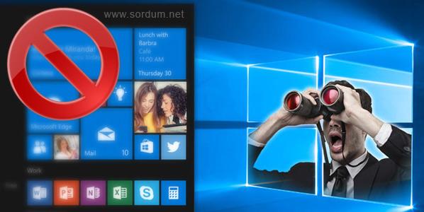 Windows 10 casuslarını bulun