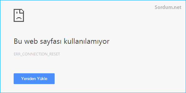 Bu web sayfası kullanılamıyor