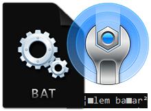 Bat ve Cmd dosyalarında Türkçe karakterler bozuk