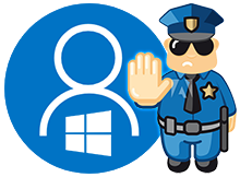 Microsoft hesabı Kullanılmasın