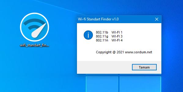 wifi standart finder