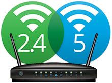 2.4 GHz ve 5 GHz Wifi sinyalleri arasındaki farklar
