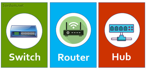 Switch Router ve Modem farkı