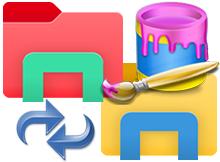 Dosya gezgini ikonu nasıl değiştirilir